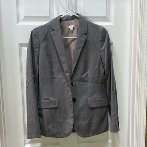 JCREW Gray blazer. Light weight
